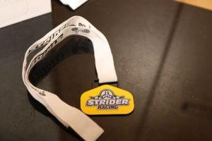 レーシングメダルの写真
