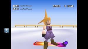 FF7、スノーボードのスタートする前の画像