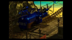 FF7ゴールドソーサーへ向かうロープウェイの画像