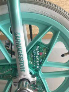 スケアクロウ車輪部分の写真