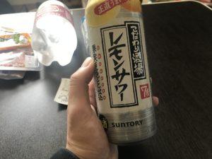 レモン缶チューハイの写真